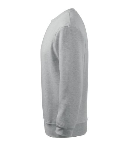 Mikina pánská Essential 300 světle šedý melír M  49aed8f850