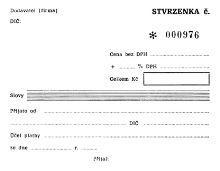 Stvrzenka A6 samopropisovací tiskopis