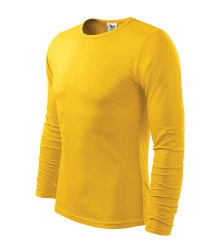 Triko pánské FIT-T Long Sleeve dlouhý rukáv žluté