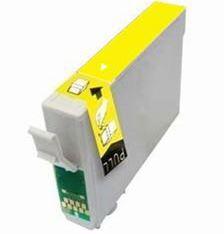 Epson T0714 Yellow kompatibilní inkoustová náplň žlutá