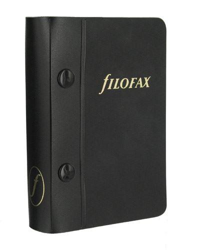 Filofax náplň do diáře formát A7 plastové archivní desky