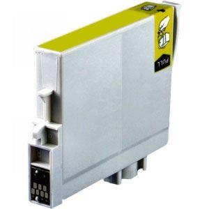 Epson T0804 Yellow kompatibilní náplň žlutá