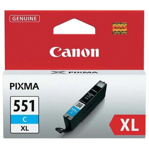 Canon CLI-551C XL Cyan originální inkoust modrý