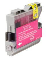 Brother LC970 LC1000 Magenta kompatibilní inkoustová náplň červená LC-970 LC-1000