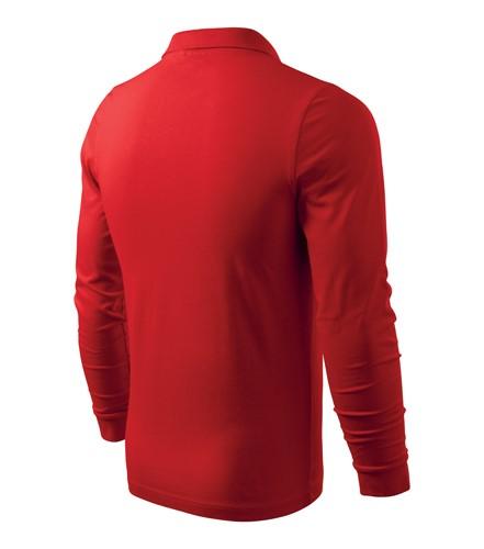 497ef36971c Polokošile pánská Single J. 180 s dlouhým rukávem červená S ...