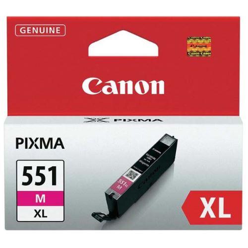 Canon CLI-551M Magenta originální inkoust červený
