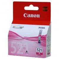Canon CLI-521M Magenta originální inkoustová náplň červená