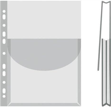 Prospektový obal U A4 170mic s kapsou čirý