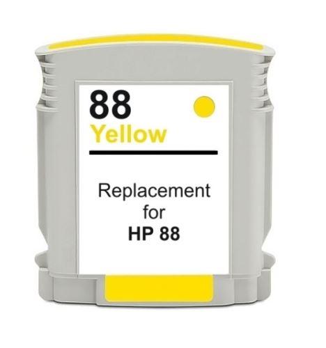 HP 88 XL Yellow kompatibilní inkoustová náplň žlutá C9393A