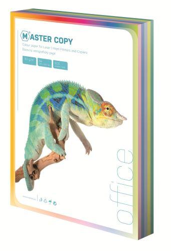 Ofsetový papír A4 colour Master světlá duha mix 5 barev 100 listů