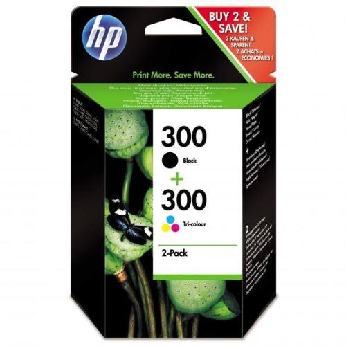 Originál barva HP CN637E No.300 black+color duopack