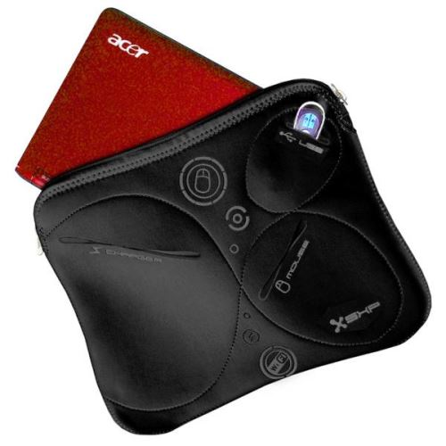 "Obal na 11"" notebook Extreme sleeve, neoprén černý"