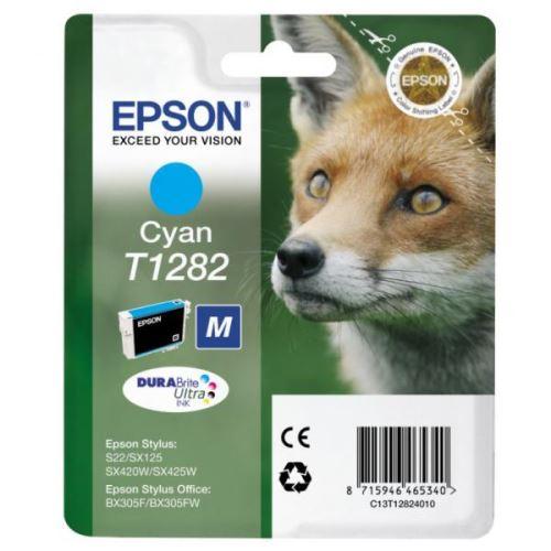 Epson T1282 Cyan originální inkoust modrý