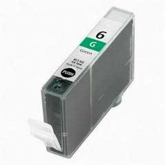 Canon BCI-6G Green kompatibilní inkoustová náplň zelená