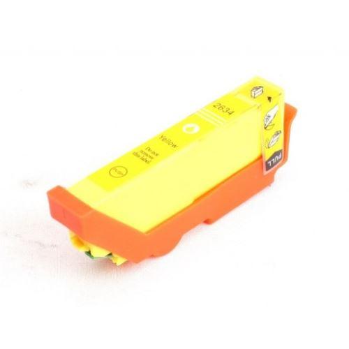 Epson T2634 Yellow kompatibilní náplň žlutá