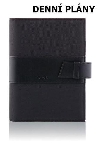 ADK diář MANAGER A5 černý plánovací systém denní