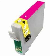 Epson T0713 Magenta kompatibilní inkoustová náplň červená