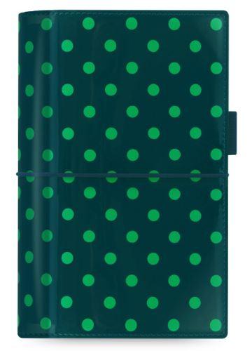 Diář Domino Patent tmavě zelený