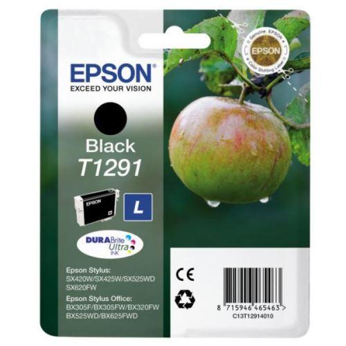 Epson T1291 Black originální černá náplň