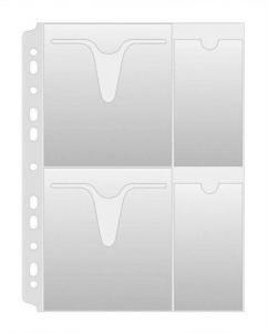 Prospektový obal na 4 CD/DVD A4 160u matné