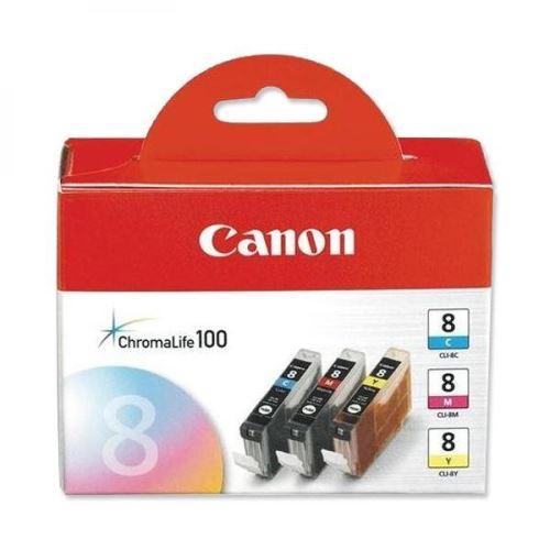 Canon CLI-8CMY Multipack originální inkoustová náplně set 3ks