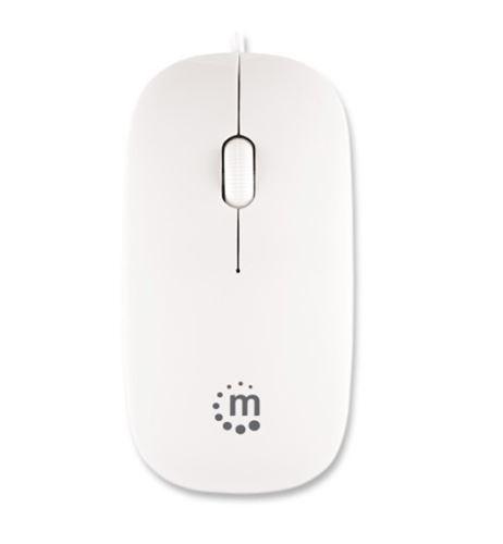 Myš Manhattan Silhouette bílá