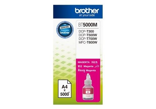 Brother BT-5000M magenta originální inkoustová náplň červená BT5000M