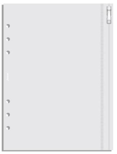 Filofax průhledná obálka se zipem A5