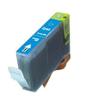 Canon BCI-6C BCI-3eC Cyan kompatibilní náplň modrá