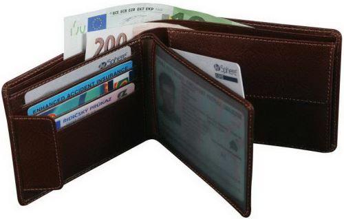 Adk peněženka TRIPOLIS hnědá