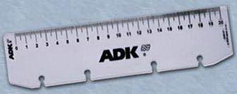 Náplň do diáře ADK formát A4 pravítko
