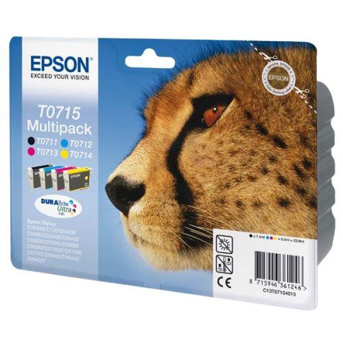 Epson T0715 Mulitpack originální inkoust