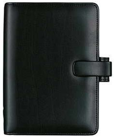Diář Filofax Metropol formát A6 černý black