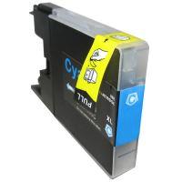 Brother LC-1240 LC-1280 Cyan kompatibilní inkoustová náplň modrá