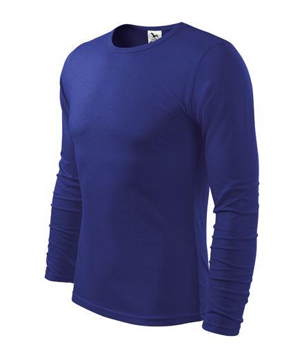 Triko pánské FIT-T Long Sleeve dlouhý rukáv královsky modré