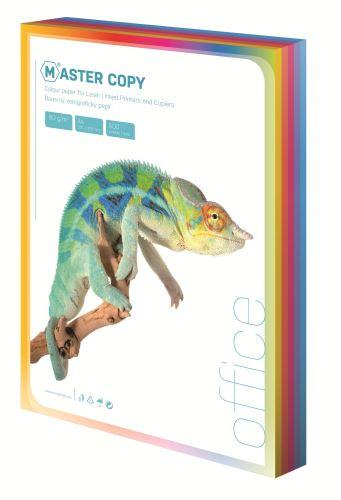Ofsetový papír A4 colour Master sytá duha mix 5 barev 100 listů