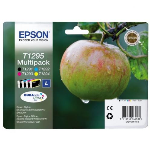 Epson T1295 Multipack originální náplně 4ks