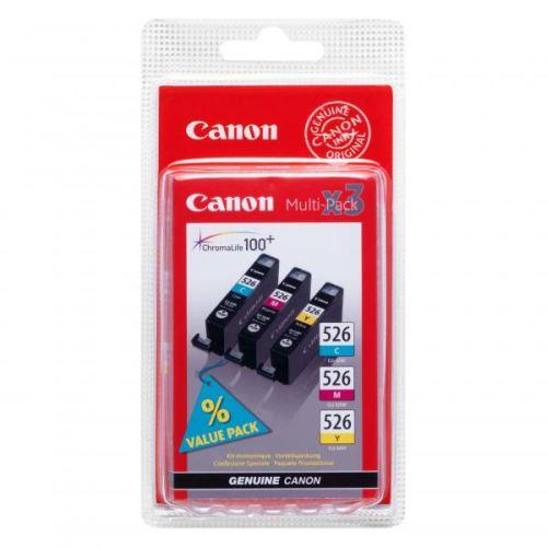 Canon CLI-526CMY Multipack originální inkoustová náplň set 3ks